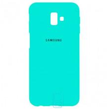 Чехол Silicone Case Full Samsung J6 Plus 2018 J610 бирюзовый