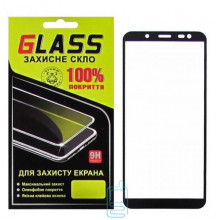Защитное стекло Full Glue Samsung J6 2018 J600 black Glass