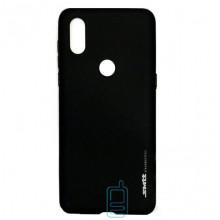 Чехол силиконовый SMTT Xiaomi Mi Mix 3 черный