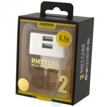 Сетевое зарядное устройство Remax Moon RP-U22 RMT7188 2USB 2.1A Original white