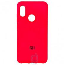 Чехол Silicone Case Full Xiaomi Mi 8 красный