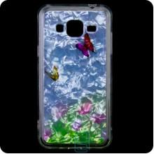 Cиликон Garden Samsung J3 2015 J300 бабочки