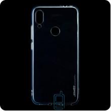 Чехол силиконовый SMTT Xiaomi Redmi Note 7, Redmi Note 7 Pro прозрачный