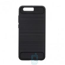 Чехол силиконовый Polished Carbon Huawei Honor 9 черный