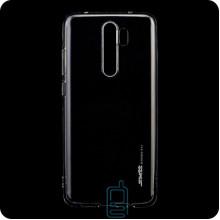 Чехол силиконовый SMTT Xiaomi Redmi Note 8 Pro прозрачный