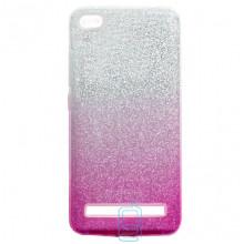 Чехол силиконовый Shine Xiaomi Redmi 5A градиент розовый