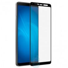 Защитное стекло Full Screen Samsung A9 2018 A920 black тех.пакет
