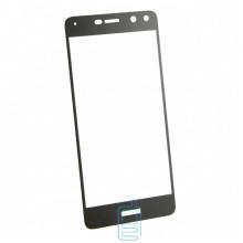 Защитное стекло Full Screen Huawei Y5 2017, Y6 2017 black тех.пакет