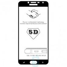 Защитное стекло 5D Samsung J4 2018 J400 black тех.пакет