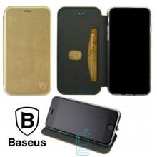 Чехол-книжка Baseus Premium Edge Xiaomi Mi 8 золотистый