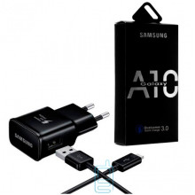 Сетевое зарядное устройство Samsung A10 Fast charger 5V-2A 9V-1.6A 2in1 micro-USB black