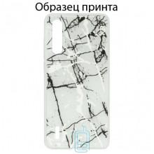 Чехол Marble Xiaomi Mi CC9E, Mi A3 white