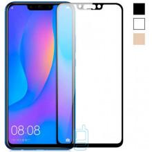 Защитное стекло Full Glue Huawei Nova 3, Nova 3i, P Smart Plus black тех. пакет