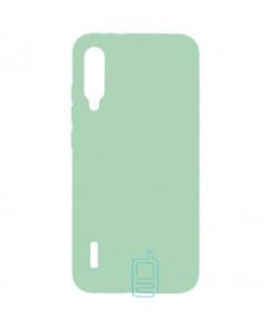 Чехол Silicone Cover Full Xiaomi Mi A3, Mi CC9E салатовый