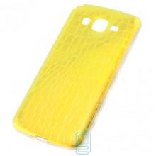 Чехол силиконовый Dekkin Snake Samsung Grand 2 G7102, G7105, G7106 хамелеон Gold