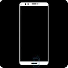 Защитное стекло Full Screen Huawei Honor 7C Pro, Nova 2 Lite, Y7 Prime 2018 white тех.пакет