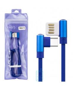 USB Кабель FWA04-TC Type-C тех.пакет синий