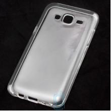 Чехол силиконовый Samsung J5 2015 J500 прозрачный