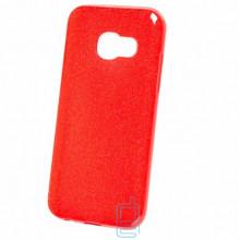Чехол силиконовый Shine Samsung A5 2017 A520 красный