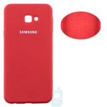 Чехол Silicone Cover Full Samsung J4 Plus 2018 J415 красный
