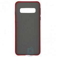 Чехол Goospery Case Samsung S10 G973 красный