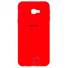 Чехол Silicone Case Full Samsung J4 Plus 2018 J415 красный