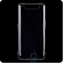 Чехол силиконовый SMTT Samsung A80 2019 A805 прозрачный