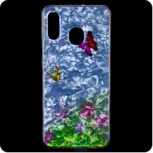 Cиликон Garden Samsung A20 2019 A205, A30 2019 A305 бабочки