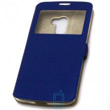 Чехол-книжка Modern 1 окно Lenovo Vibe K4 Note, Vibe X3 Lite A7010 синий