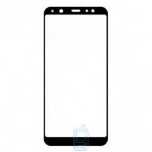 Защитное стекло Full Screen Samsung A6 2018 A600 black тех.пакет