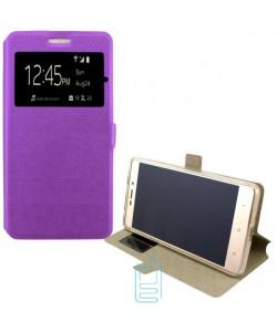 Чехол-книжка Modern 1 окно Doogee Y100 Pro Valencia 2 фиолетовый