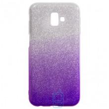 Чехол силиконовый Shine Samsung J6 Plus 2018 J610 градиент фиолетовый