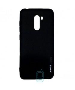 Чехол силиконовый SMTT Xiaomi Pocophone F1 черный