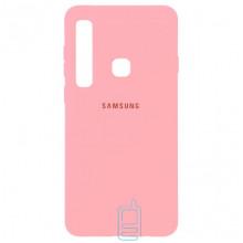 Чехол Silicone Case Full Samsung A9 2018 A920 розовый