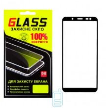 Защитное стекло Full Screen Samsung J6 2018 J600 black Glass