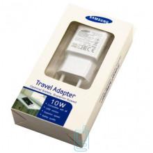 Сетевое зарядное устройство Samsung S6 quickly charge 1USB 2.0A white