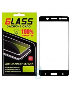 Защитное стекло Full Screen Nokia 6 black Glass