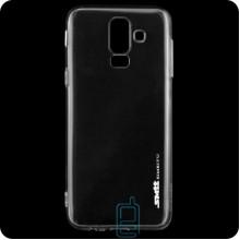 Чехол силиконовый SMTT Samsung J8 2018 J810 прозрачный