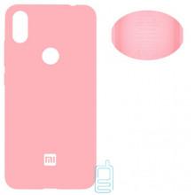 Чехол Silicone Cover Full Xiaomi Redmi Note 7, Redmi Note 7 Pro розовый