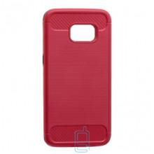 Чехол-накладка Motomo X6 Samsung S7 Edge G935 красный