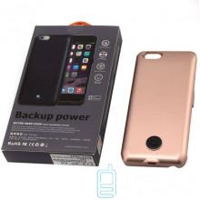 Чехол-аккумулятор X366 Apple iPhone 6 Bronze