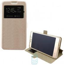 Чехол-книжка Modern 1 окно Huawei Y6 II золотистый