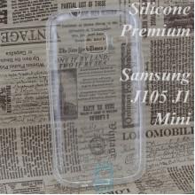 Чехол силиконовый Premium Samsung J1 Mini J105 прозрачный