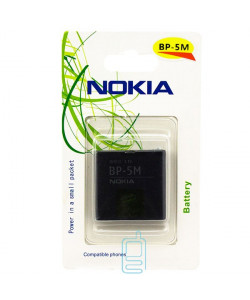 Аккумулятор Nokia BP-5M 900 mAh 5610, 5700, 6500 AA/High Copy блистер