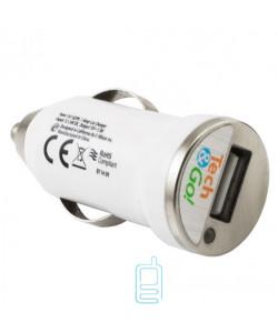 Автомобильное зарядное устройство Car-007 1USB 1.0A white без коробки