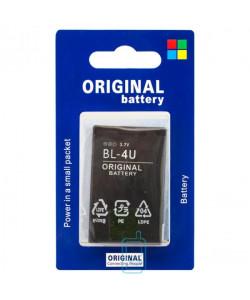 Аккумулятор Nokia BL-4U 1000 mAh 500, 600, 5250 AA/High Copy блистер