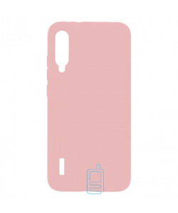 Чехол Silicone Cover Full Xiaomi Mi A3, Mi CC9E розовый