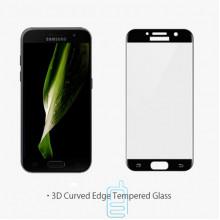 Защитное стекло Full Screen Samsung A3 2017 A320 black тех.пакет