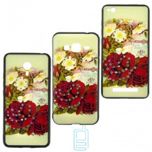 Чехол-накладка Flower Case Samsung J3 2017 J330 Mc. Gregor Rose