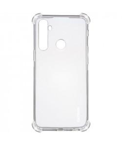 TPU чехол GETMAN Ease logo усиленные углы для Realme 5 — Прозрачный
